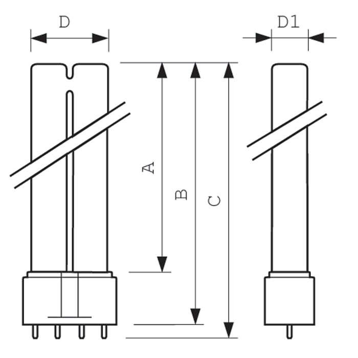 UVC-2G11-matmenys